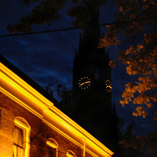 Delft by Night
