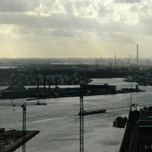 Rotterdam Harbour Panorama
