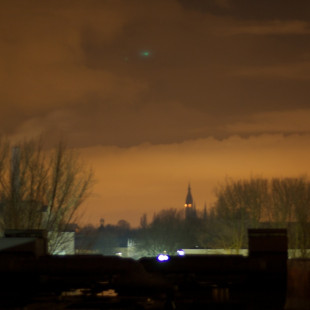 Delft Night Sky