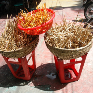 Drying Chopsticks II